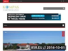 Miniaturka domeny www.kompasturystyczny.pl