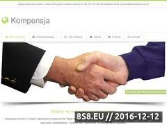 Miniaturka domeny kompensja.com.pl