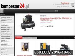 Miniaturka Kompresory - Pneumatyka - sklep internetowy (kompresory-sprezarki.eu)