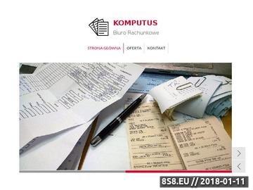 Zrzut strony Komputus - księgowość