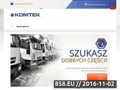Miniaturka domeny www.komtek.pl
