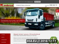 Miniaturka domeny www.konbrud.pl