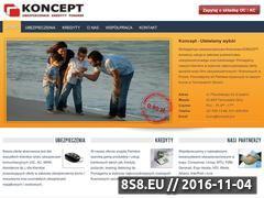 Miniaturka domeny www.koncept.pro