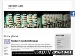 Miniaturka domeny kondzio.info