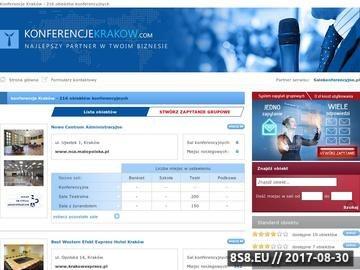 Zrzut strony Konferencje Kraków