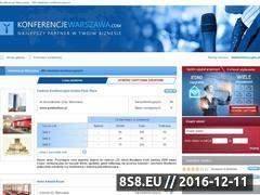 Miniaturka domeny www.konferencjewarszawa.com