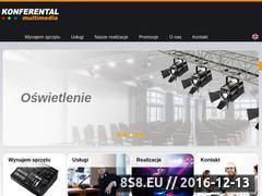 Miniaturka domeny www.konferental.pl
