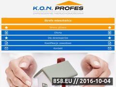 Miniaturka domeny www.konprofes.pl