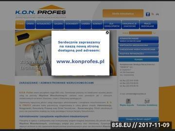 Zrzut strony Administrowanie nieruchomościami w Warszawie