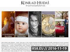 Miniaturka domeny www.konradhudas.pl