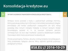 Miniaturka domeny konsolidacja-kredytow.eu