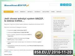 Miniaturka domeny konsultant-haccp.pl