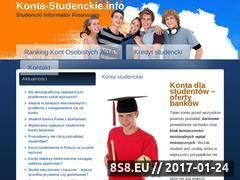 Miniaturka domeny www.konta-studenckie.info