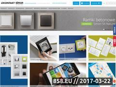 Miniaturka domeny www.kontakt-simon.com.pl