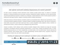 Miniaturka domeny kontobankowe24.pl