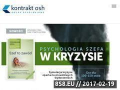 Miniaturka domeny kontraktosh.pl