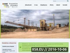 Miniaturka domeny www.kopalniajozefka.pl