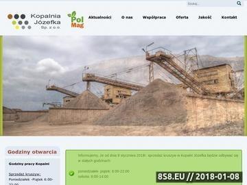Zrzut strony Kopalnia Józefka Sp. z o.o.