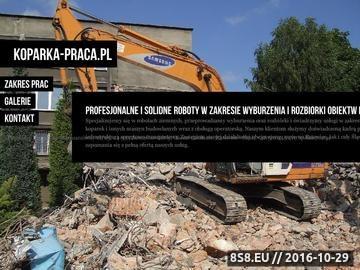 Zrzut strony Wyburzenia Katowice