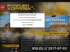 Miniaturka domeny koparki-lodz.com.pl