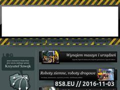 Miniaturka domeny www.koparki.namazurach.info