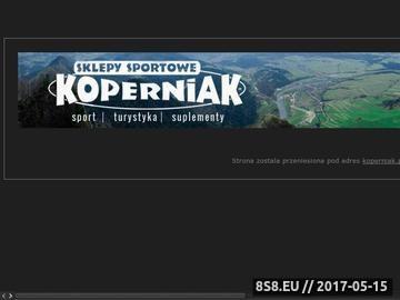Zrzut strony Sklep Sportowy - odżywki i suplementy - KOPERNIAK