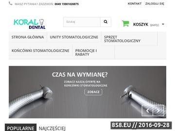 Zrzut strony Wyposażenie gabinetu stomatologicznego