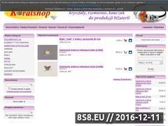 Miniaturka domeny www.koralshop.pl