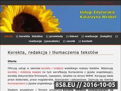 Miniaturka domeny korektor-tekstow.pl