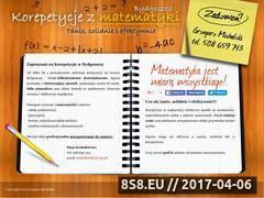 Miniaturka domeny www.korepetycje.jcom.pl