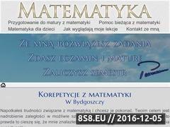 Miniaturka domeny www.korepetycjematematyka.bydgoszcz.pl