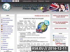 Miniaturka domeny www.korkiangielski.pl