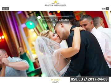 Zrzut strony Sala na wesele Wrocław - Dwór Korona Karkonoszy
