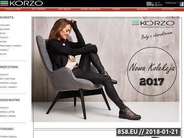 Zrzut strony Korzo - buty damskie, męskie, torebki