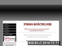 Miniaturka domeny www.koscielnik.ig.pl