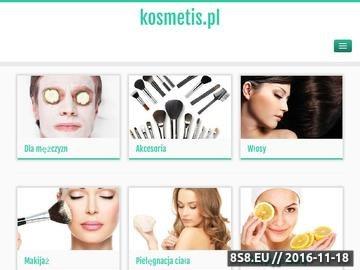 Zrzut strony Kosmetyki Online