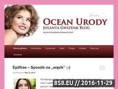 Miniaturka domeny kosmetyczkalancut.pl