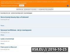 Miniaturka domeny kosmetyczki.net