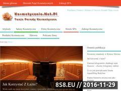 Miniaturka domeny www.kosmetycznie.net.pl