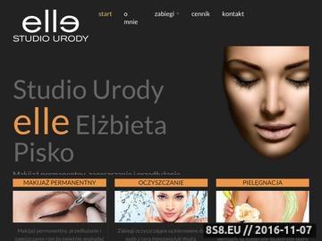 Zrzut strony Gabinet medycyny estetycznej i kosmetyki w centrum Gliwic