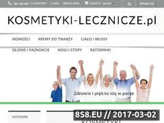Miniaturka domeny www.kosmetyki-lecznicze.pl