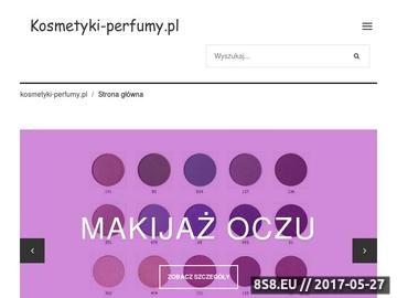 Zrzut strony Lista sklepów kosmetycznych i perfumerii