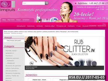Zrzut strony Kurs paznokci Szczecin