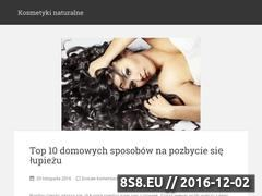 Miniaturka domeny www.kosmetykinaturalne.sklep.pl