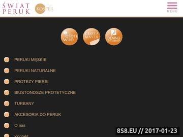 Zrzut strony Peruki z włosów naturalnych Warszawa