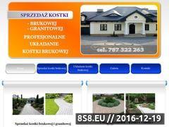 Miniaturka domeny www.kostka-brukowa-rzeszow.pl