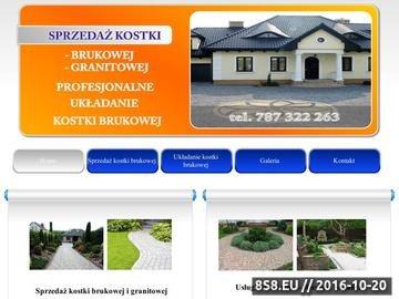 Zrzut strony Kostka brukowa Rzeszów - układanie kostki brukowej Rzeszów