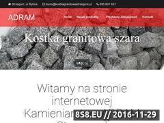 Miniaturka domeny kostkagranitowastrzegom.pl