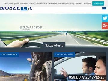 Zrzut strony Kurs instruktorów jazdy Wrocław