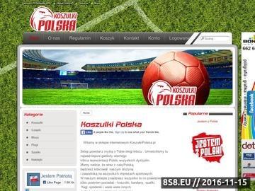 Zrzut strony Koszulkipolska.pl